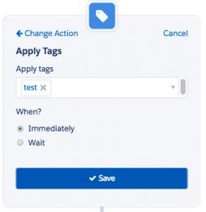 Apply Tag - Pardot - How to get a detailed performance metrics for a Pardot Engagement Studio Program? - Getawayposts.com