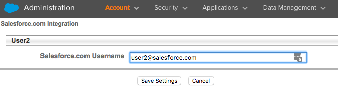 Marketing Cloud Import Activities Visibility Fix - Integrate Salesforce user step 1.2 - getawayposts.com