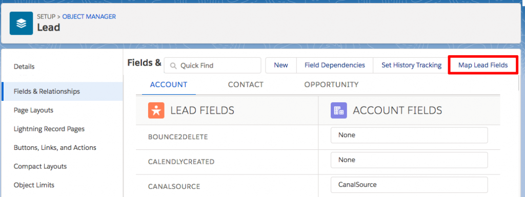 Map Lead Fields - Salesforce Tips - How to Map a Lead Source to the Account Source Upon Conversion - getawayposts.com