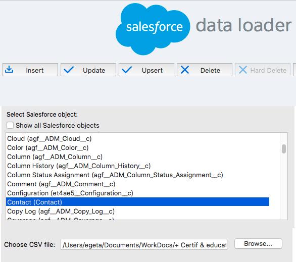 Mass Delete Contacts Salesforce With Dataloader - Getawayposts.com