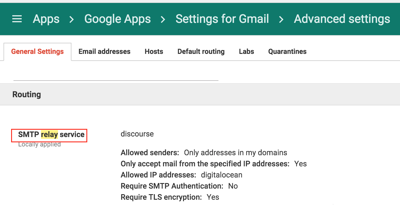 How to configure Gmail & Email Relay to avoid deliverability